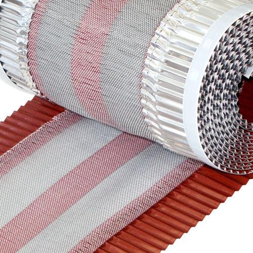banda impermeable para cumbrera con ventilación
