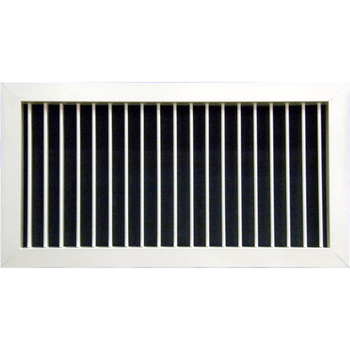 rejilla de ventilación de chapa de acero
