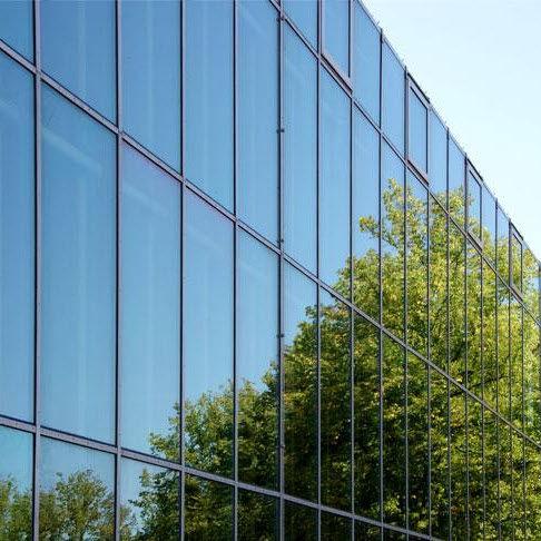 panel de vidrio flotado / de control solar / para fachada / para ventana