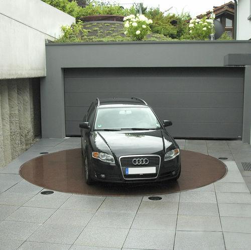 plataforma para coches giratoria