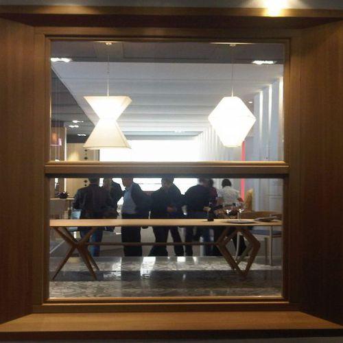 ventana de guillotina / de madera / con vidrio doble / de seguridad