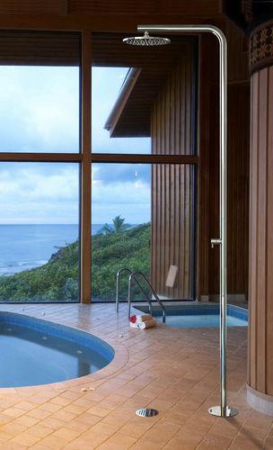 ducha de exterior de acero inoxidable