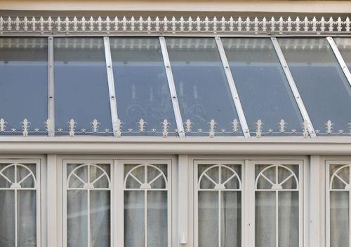 cerramiento de terraza totalmente de vidrio