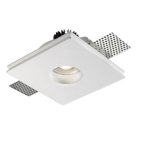 downlight empotrable / LED / redondo / cuadrado