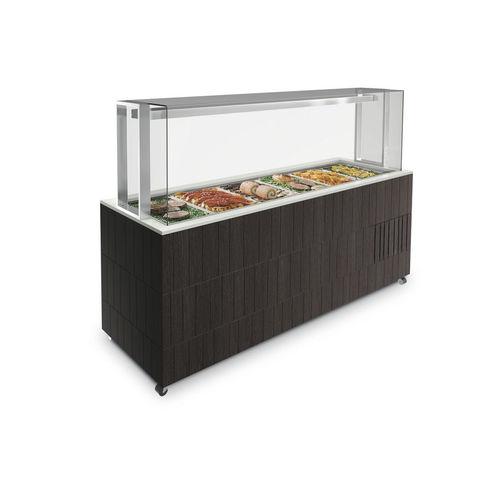 aparador refrigerado central