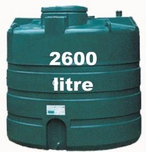 tanque de superficie / de agua de lluvia / de polietileno
