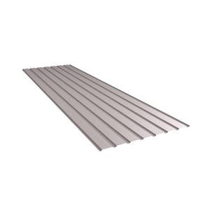 chapa acanalada / de acero / para muro / de cubiertas