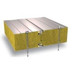 panel sándwich para fachada / para muro / para techo / cara metálica