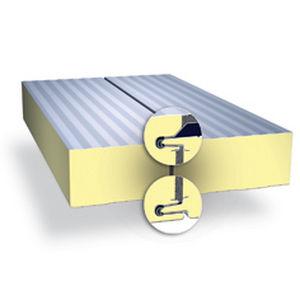 panel sándwich para muro / cara de acero galvanizado / alma de poliisocianurato PIR