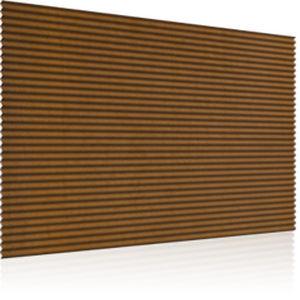 revestimiento de fachada de acero COR-TEN® / acanalado / en placas / para fachada ventilada