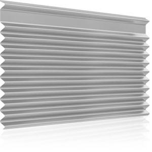 revestimiento de fachada en placas / acanalado / para fachada ventilada