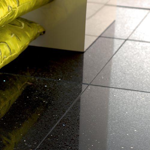 baldosa de interior / para pavimento / de vidrio / de cuarzo