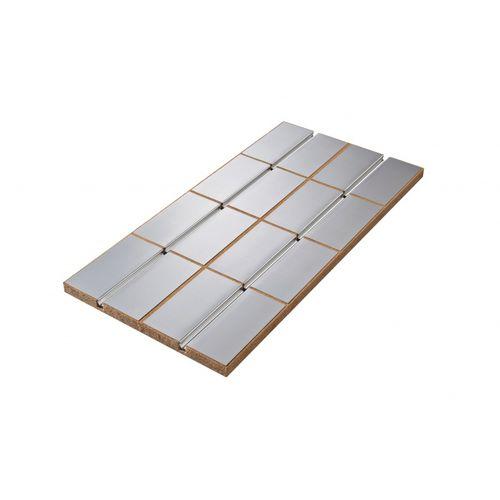 aislante térmico / de fibra de madera / para forjado / para canalizaciones