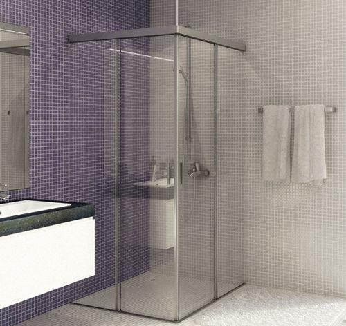 cabina de ducha de obra
