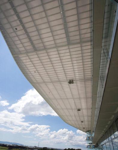 plancha de policarbonato de cubiertas / para fachada