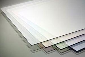 panel de PETg / para carpintería / 100 % reciclable / transparente