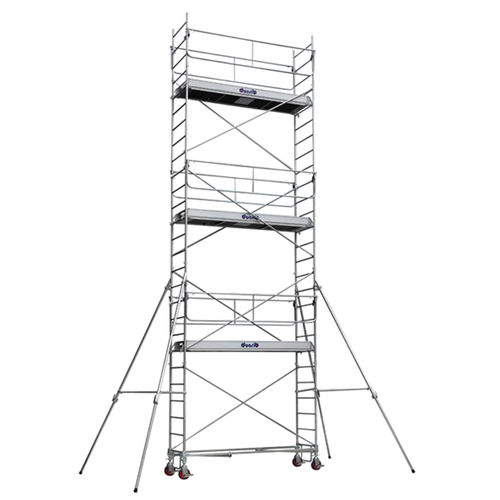 andamio de acero galvanizado / de aluminio / de madera / enrollable