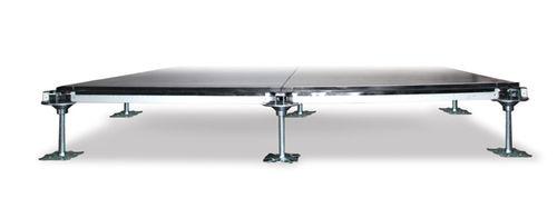 suelo técnico de metal / radiante / de interior