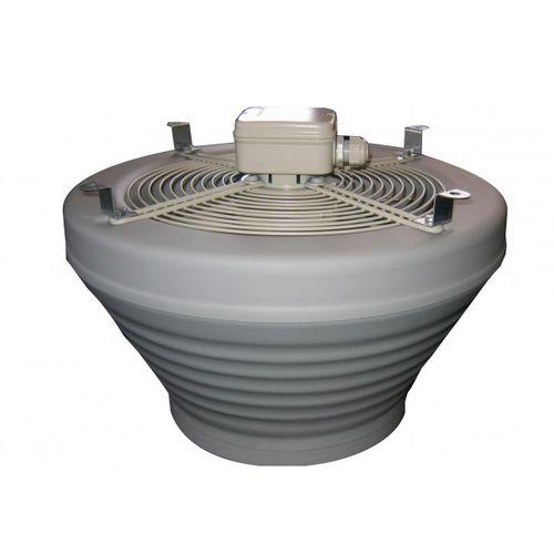 ventilador axial / de techo / profesional / de plástico