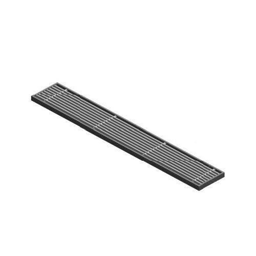 rejilla de ventilación de aluminio anodizado / rectangular