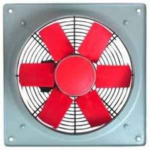 ventilador axial / de pared / profesional / de metal