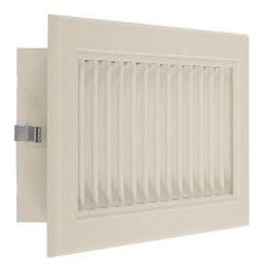 rejilla de ventilación de ABS / rectangular / ajustable