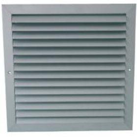 rejilla de ventilación de aluminio anodizado / cuadrada / ajustable