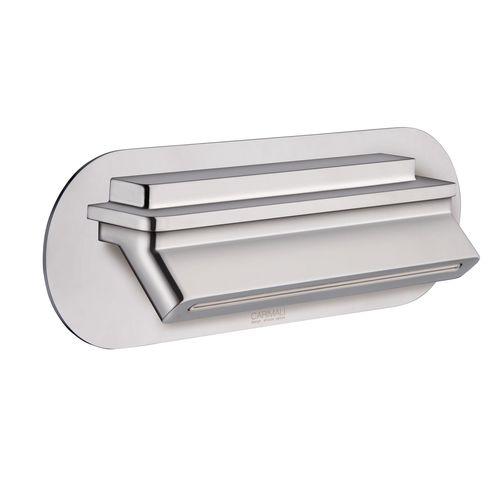 rociador de ducha de pared / rectangular / cascada