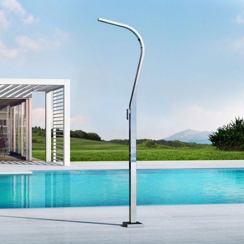 ducha de exterior para piscina