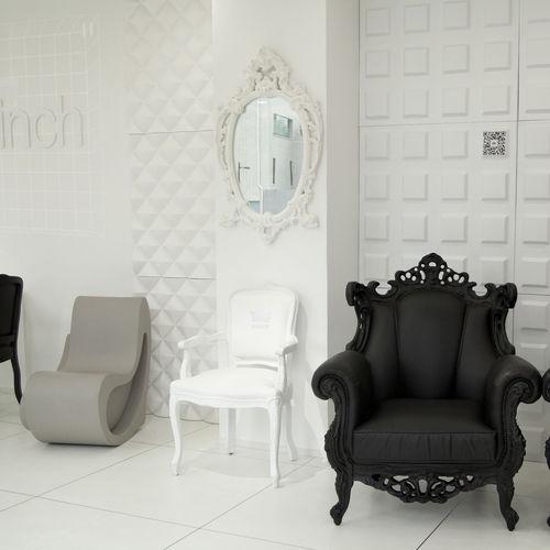 espejo de pared / de diseño nuevo barroco / para el sector servicios