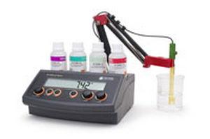 medidor de pH y ORP digital