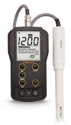 analizador de agua multi-parámetros / pH / conductividad