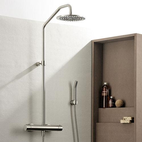 columna de ducha termostática / para el sector servicios / con alcachofa