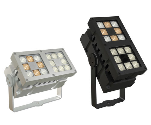 luminaria montada en superficie / LED / rectangular / de exterior