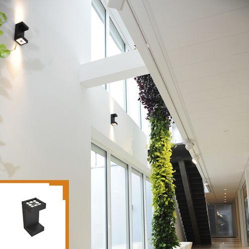 aplique contemporáneo / de exterior / de aluminio / LED