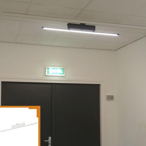 iluminación sobre riel LED / lineal / de aluminio / para el sector servicios