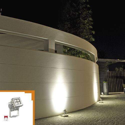 aplique contemporáneo / de exterior / de metal / LED
