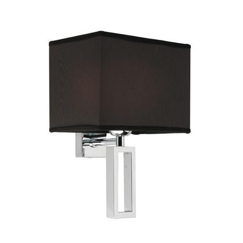 aplique contemporáneo / de metal cromado / de textil / LED