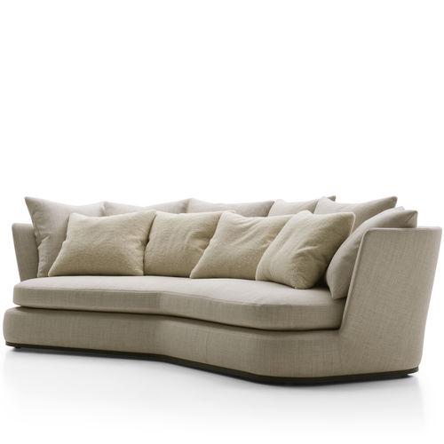 sofá moderno / de tejido / de cuero / de Antonio Citterio