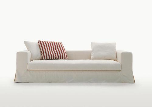 sofá moderno / de cuero / de tejido / de Antonio Citterio