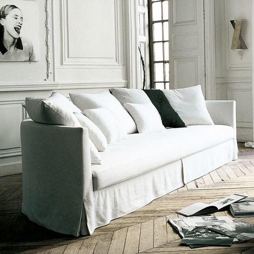 sofá moderno / de tejido / de Antonio Citterio / 3 plazas