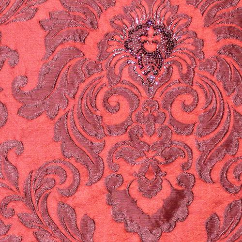 tela de tapicería / con motivos / de lino / de poliéster