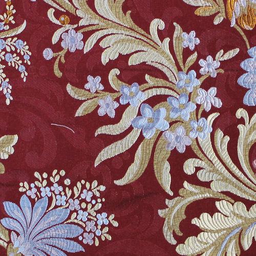 tela de tapicería / de flores / de poliéster / de fibra acrílica