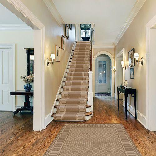 alfombra de colores / moderna / con motivos geométricos / de nailon