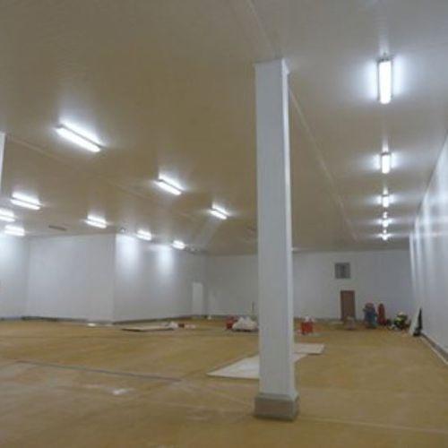panel decorativo de acero / para techo / de alta resistencia / liso