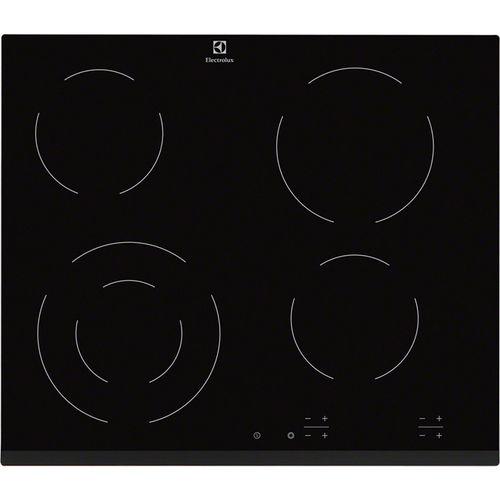 placa de cocina de vitrocerámica