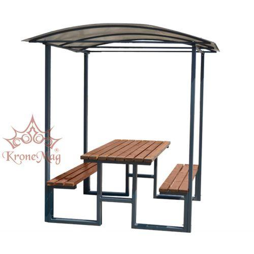 mesa de pícnic contemporánea