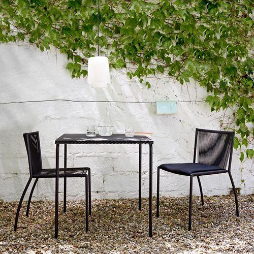 silla moderna / tapizada / apilable / de polipropileno