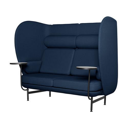 sofá contemporáneo / de tejido / de acero con revestimiento en polvo / de Jaime Hayon