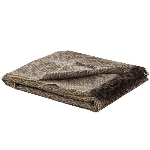 manta de viaje de lana merino